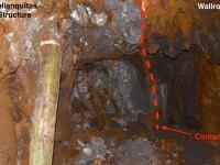 Callanquitas Wallrock-Structure Contact 3440 Level AUG 2017
